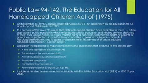 learning legal rules a 0198728433 history of special education