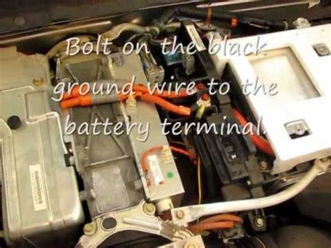 install  grid charger hybrid ima battery charger