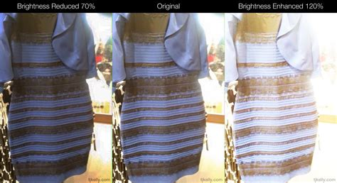 Dress Black Blue the dress is black blue but here s why you can t tell