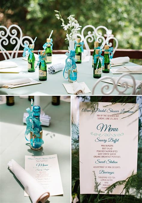 theme wedding shower menu how to organize a themed bridal shower wedding tips