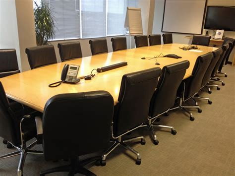 conference room table and chairs office room table and chairs office meeting room chairs office executive boardroom used