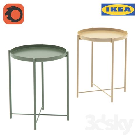 ikea gladom hack 3d models table table gladio gladom tray table ikea