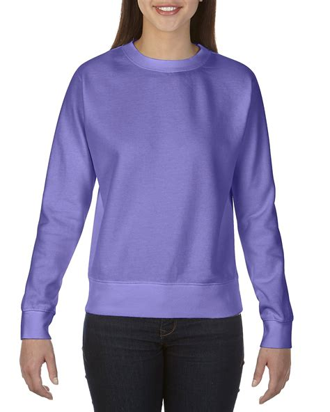 comfort colors sweatshirt 1596 crewneck sweatshirt comfort colors 174 usa
