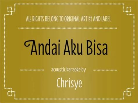 free download mp3 chrisye resesi download acoustic karaoke andai aku bisa chrisye mp3 mp3