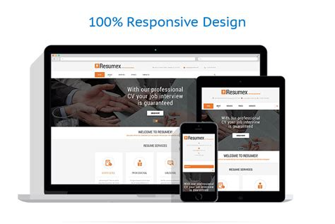 job portal responsive website template 57619 by wt business website template 53534 templates com