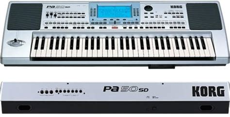Keyboard Korg Pa 50 Sd Bekas keyboard arranger ramzi korg