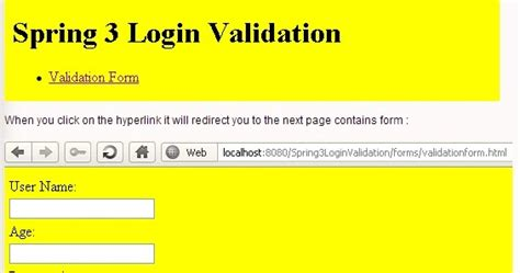 pattern javax validation spring 3 mvc form validation spring tutorials