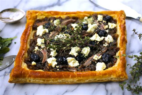goat cheese tart caramelized onion olive and goat cheese tart nerds with