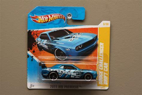 Hotwheels Dodge Challenger Drift Car B 95 wheels 2011 hw premiere dodge challenger drift car blue
