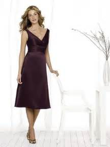 eggplant colored dresses eggplant bridesmaid dresses