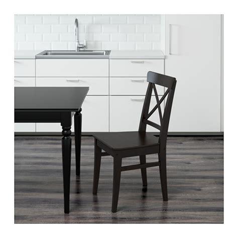 ikea ingolf bench ingolf chair brown black ikea