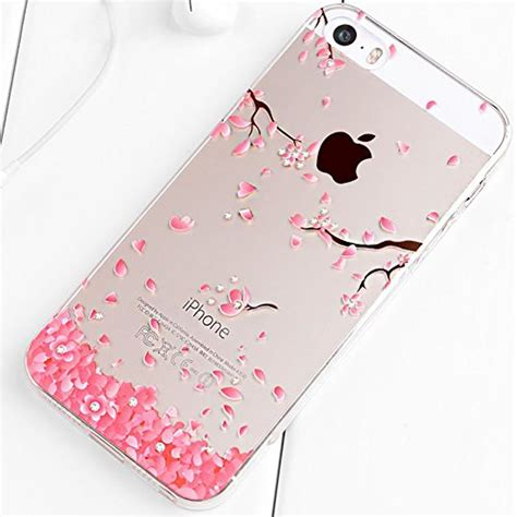 Iphone 55sse Cocose Silicon iphone 5s custodia iphone 5 custodia iphone se cover silicone trasparente jawseu cristallo