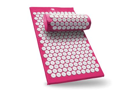 bed of nails acupressure mat and pillow vegan cuts