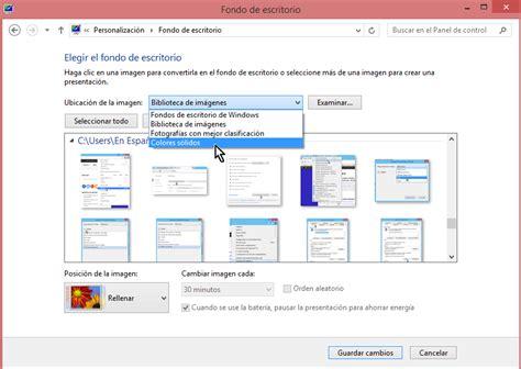 como cambiar escritorio en windows 7 c 243 mo cambiar el fondo del escritorio en windows tecnicomo