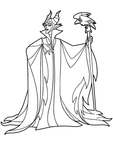 Sleeping Beauty Maleficent Coloring Pages Www Pixshark Maleficent Coloring Pages