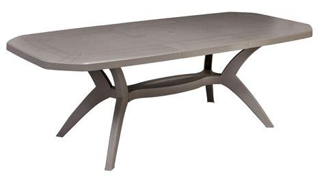 Table Jardin 220 by Table De Jardin Ibiza 220 X 100 Cm Taupe Achat Vente