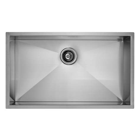 32 Inch Undermount Kitchen Sink Vigo Industries Vigo 32 Inch Undermount Stainless Steel 16 Single Bowl Kitchen Sink