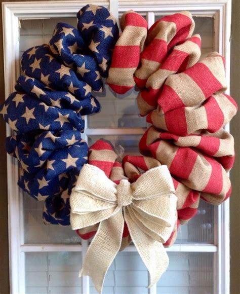 Patriotic Door Wreaths by Patriotic Wreath Memorial Day Wreath 4th Of July