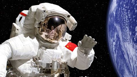 Livspace Com chinese astronauts beam science lesson from space