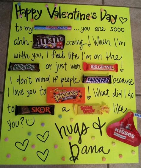 valentines chocolates for him valentines day cards for him s day card