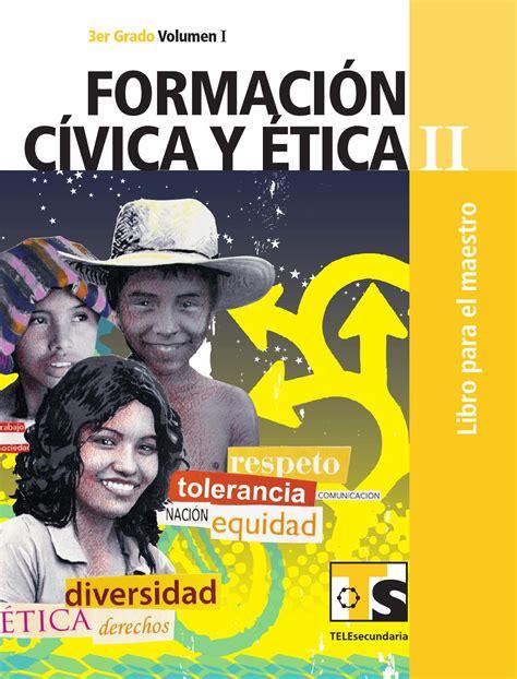 libro de formacion issuu libro de texto 6to grado formacion civica y etica mejor