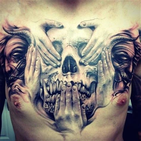 top 20 chest tattoos for men best tattoo ideas