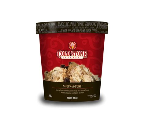 Cold Stone Gift Card Balance - cold stone creamery pre packed shock a cone ice cream