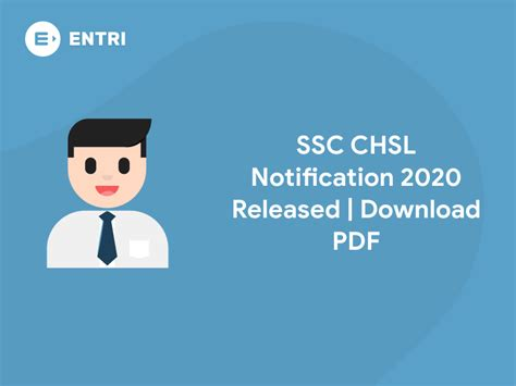 ssc chsl notification  released   entri blog