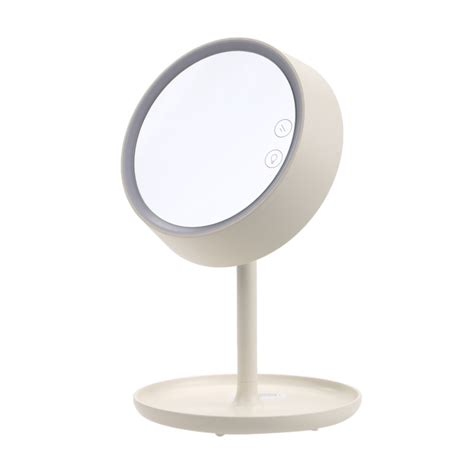 desk mirror with stand cosmetic mirror stool bedroom furniture dressing gift usb