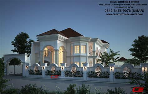jasa desain rumah mewah