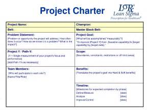 project charter template powerpoint best photos of project charter document project charter