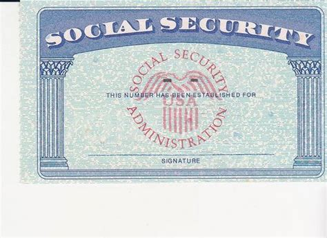 social security card template photoshop social security card ssc blank color ssc blank social
