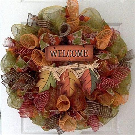 how to make a wreath 25 unique fall mesh wreaths ideas on autumn
