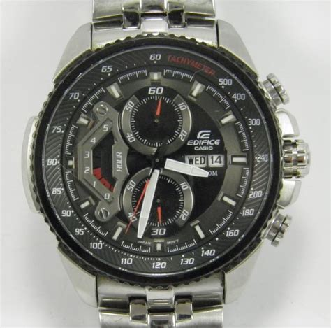 Casio Edifice Ef 558 Oribm casio edifice chronograph ef 558 herenpolshorloge catawiki