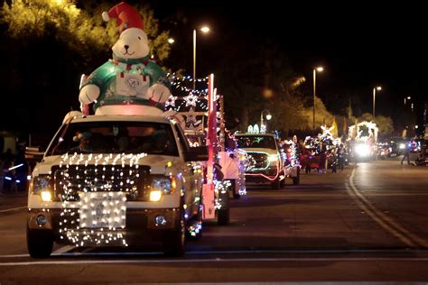 festival of lights tucson parade of lights hits the streets of downtown tucson