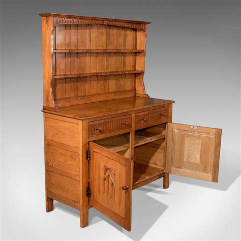 Antique Oak Kitchen Cabinet Antiques Atlas Antique Oak Kitchen Display Dresser Cabinet