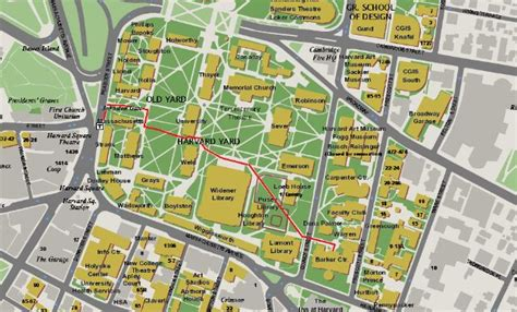 harvard map harvard yard map boston cambridge and all things harvard all boston and all