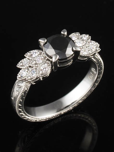 unique engagement and wedding rings by krikawa out of this