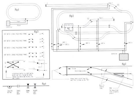 model railway electrics wiring wiring ho tracks for storage