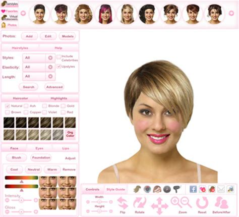 virtual hairstyler free benefits thehairstyler com