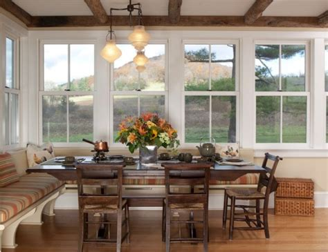 Dining Room Bench Seat by Oversize Kitchens How To Include Comfortable Dining Space