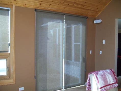 Roller Shades For Sliding Patio Doors Roller Shades On A Patio Door Sliding Glass Door Window Treatments Shades Doors