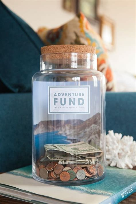 printable money jar labels make your own quot fund quot jar with 4 different free labels