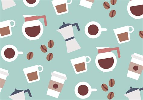 pattern coffee vector coffee colorful pattern vector download free vector art