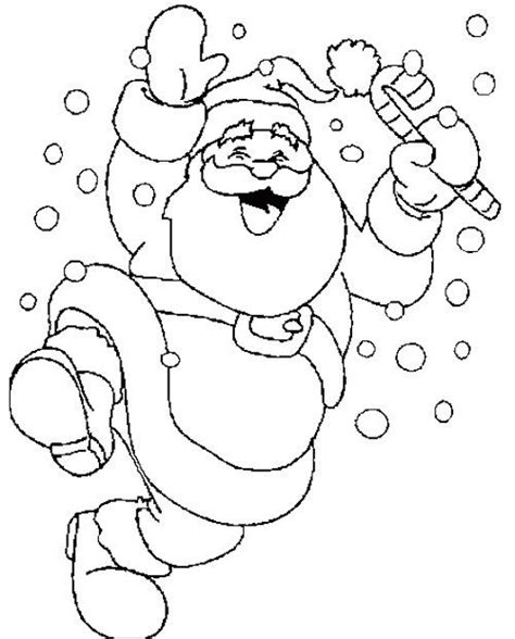 dancing santa coloring page santa claus dancing snow coloring page coloring pages