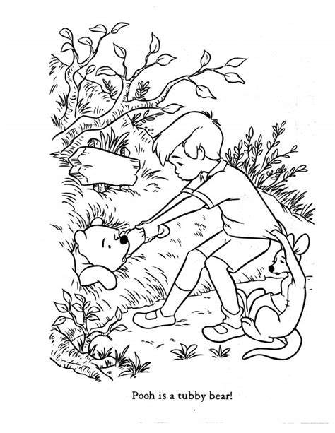coloring pages of christopher robin christopher robin pages coloring pages
