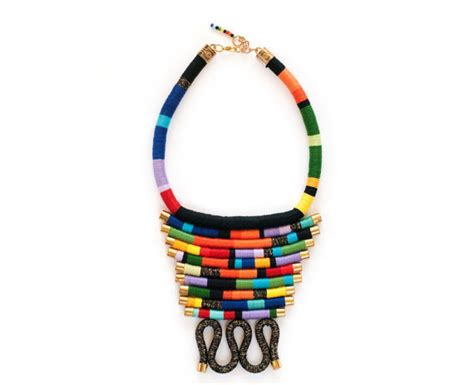 diy african rope necklace rope statement necklace african rope necklace ethnic