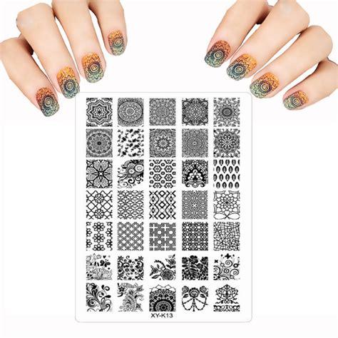 Stempel Design Vorlagen Kaufen Gro 223 Handel Blume Nail Vorlagen Aus China Blume Nail Vorlagen Gro 223 H 228 Ndler