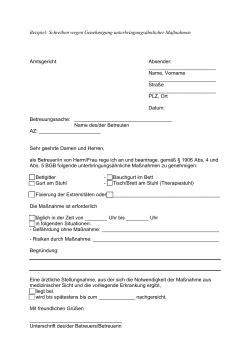 Antrag Elternzeit Vorlage Doc Vorlage Antrag Genehmigung Geschlossene Unterbringung