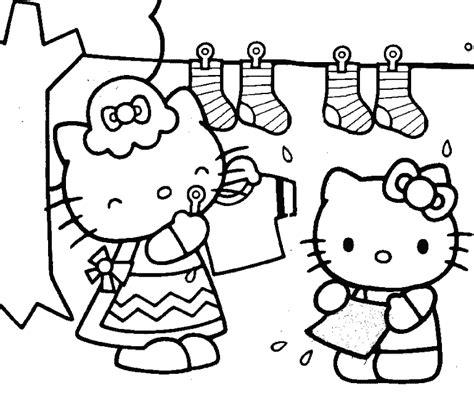 printable untuk anak belajar mewarnai gambar untuk anak tokoh kartun hello